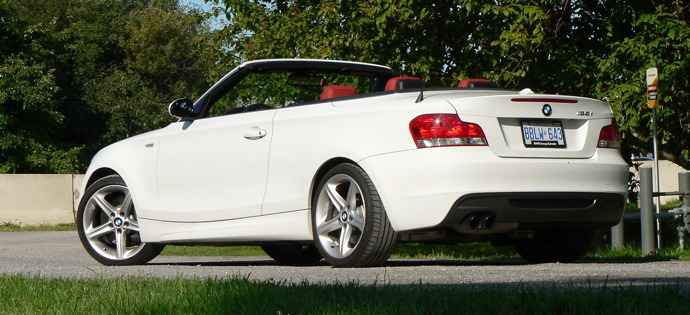 Road Test BMW I Cabriolet John LeBlancs Straightsix - Bmw 135is convertible