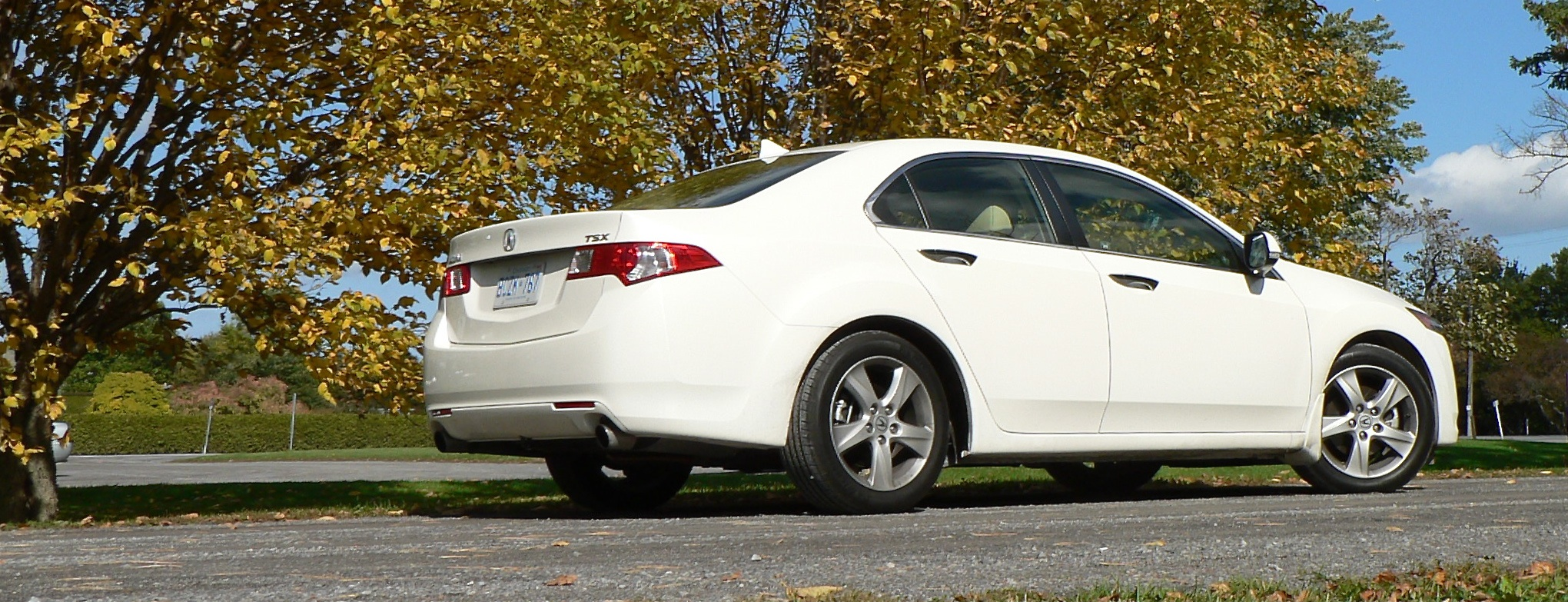 Attractive 77th Post1. THIRD PLACE: 2009 Acura TSX