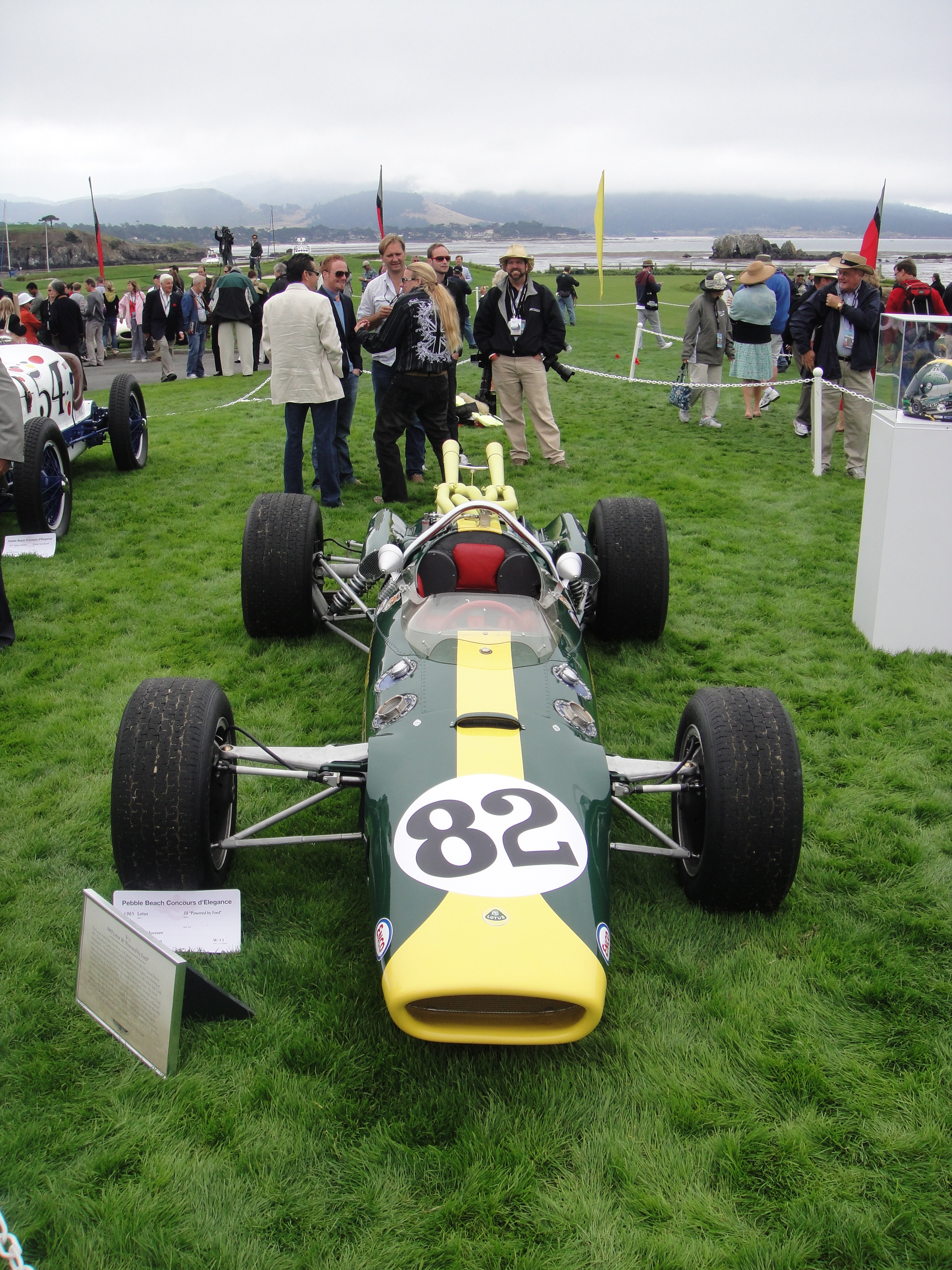 "The 1965 Lotus 38 ""Powered by"